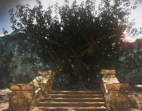 Elders tree by Paweł Bystrzycki, via Behance