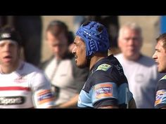 Big Hit from Filo Paulo Cardiff Blues v Edinburgh 6th Oct 2013