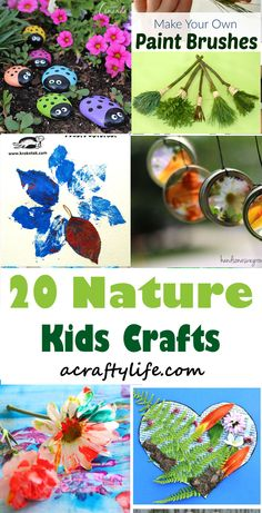 nature kids craft - kid crafts - acraftylife.com #preschool #craftsforkids #crafts #kidscraft Crafts For Kids To Make, Projects For Kids, Easy Crafts, Art For Kids, Arts And Crafts, Mountain Crafts For Kids, Craft Projects, Nature Activities, Craft Activities For Kids