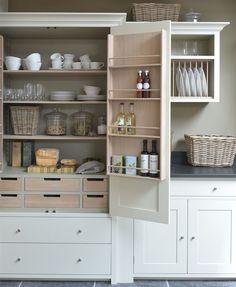Neptune Kitchen Base Cabinets - Suffolk 920 4 Drawer Base Cabinet