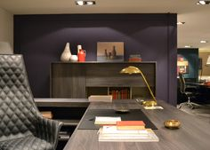 Showroom – SESSANTA executive desk and medium cabinet by Prof Office