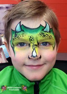 Galerie Face, Kids Makeup, Carnavals, Dinosaurs, The Face, Faces, Facial