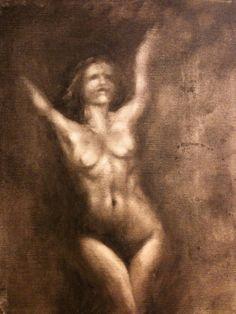 Blind V  Oil on canvas  © Patricia Benitez