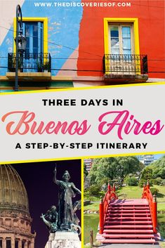 Buenos Aires City Guide I Things to do in Buenos Aires I Argentina I Nightlife I La Boca I Food #traveltips #southamerica #argentina