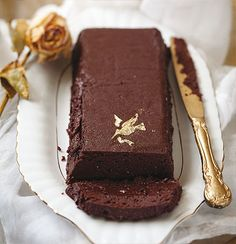 Baked chocolate pate...