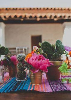 Mexican Wedding centerpieces                                                                                                                                                                                 More