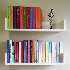 DIY your photo charms, compatible with Pandora bracelets Creative Bookshelves, Bookshelf Design, Wall Shelves Design, Ideas Habitaciones, Home Office Decor, New Room, Home Living Room, Room Inspiration, Decoration