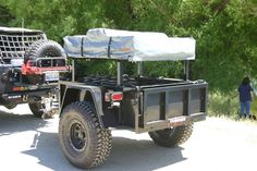 Multi-Purpose Off Road trailer-  I think with a little modification a trailer like that can be very useful.