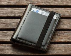Men's Leather Wallet, Minimalist Wallet , Mens Wallet, Leather Wallet, personalized wallet