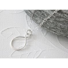 Silver Infinity Necklace (€24) ❤ liked on Polyvore featuring jewelry and necklaces