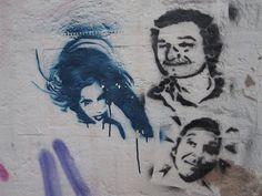 """Amy, R.I.P"" - Street Art"
