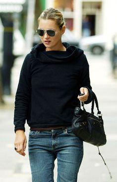 Kate Moss y las reglas del denim