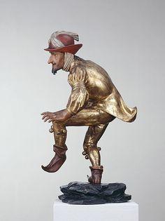 Erasmus Grasser, African Moor Dancer ('Little Tailor'), 1480