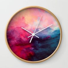 Reassurance Wall Clock by Caleb Troy from Saved to Epic Wishlist. Shop more products from on Wanelo. Apollo Box, Wall Clock Design, Designer Wall Clocks, Unique Wall Clocks, Diy Wall Clocks, Clock Wall, Diy Clock, Clock Ideas, Decoration Inspiration