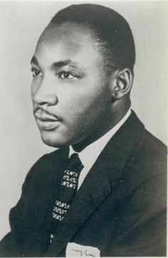 Dr. Martin Luther King Jr. in 1960. Photographer unknown. Missouri History Museum.