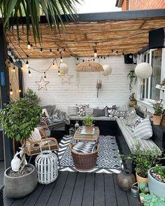 Courtyard Design, Backyard Garden Design, Patio Design, Backyard Patio, Garden Web, Back Garden Design, Diy Patio, Outdoor Balcony, Outdoor Rooms