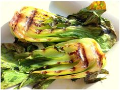 Grilled Baby Bok Choy #Recipes #Healthy