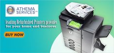 Athema is your leading Refurbished Printers provider for your home and business, Laser printers, A0 Colour Plotters, A1 Colour Plotters, buys Inkjet printer, Dot Matrix Printers and more. Save money with Refurbished Colour Plotters. Click here for more info