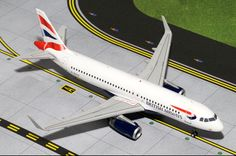 "1/200 Gemini Jets British Airways Airbus A320-200 Registration: G-EUYV G2BAW424 IN STOCK - item usually ships within 24 hours Length 7.40"" Wingspan 7.05"" Each model is very collectible and all regular"