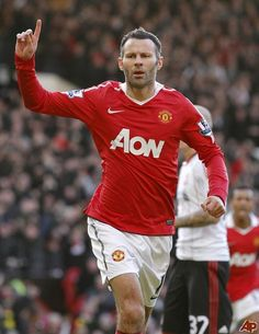 From Adidas to Umbro to Nike, Ryan Giggs wore 48 different strips during his 23 years in the Manchester United first-team.Giggs donned everything from acid Originals to depressing grey strips to gingh. Manchester United Legends, Manchester United Players, Football Spirit, Football Team, Man Utd Squad, Oxford United, Premier League Champions, Soccer Fans, Professional Football