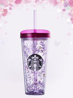 2018 Starbucks Korea Capture the moment of Spring flower glitter cold cup 650ml #StarbucksKoreaHappyNowYear2017
