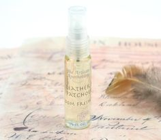 Patchouli and Leather  Room Freshener Air by TheArtisanApothecary