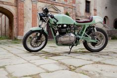 Hinckley Triumph Milonga by Cafe Twin ~ Return of the Cafe Racers