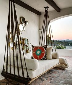 20+ Cozy Hanging Chair Design Ideas For Outdoor #HangingChair