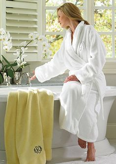Shop Frontgate collection of luxury bathrobes and cashmere pajamas. Find  comfortable bath robes and spa robes for relaxing at home. 4eb4c3505