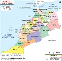 Cities In Morocco Return From Morocco Cities To Home Page New - Map of morocco
