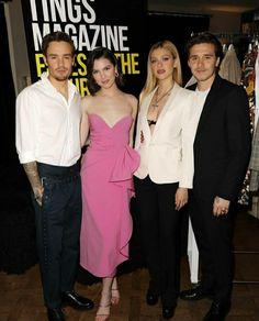 David And Victoria Beckham, Nicolas Peltz, Brooklyn Beckham, Strapless Dress Formal, Formal Dresses, Lucky Man, Liam Payne, Couple Goals, Cute Couples