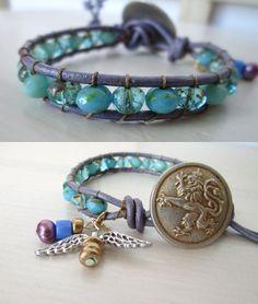 Purple angel wrap by So cliché jewelry  https://www.facebook.com/soclichejewelry