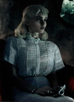 Model: Abbey Lee Kershaw | Photographer: Mikael Jansson | Stylist: Karl Templer - 'As She Waits' for Interview March 2012