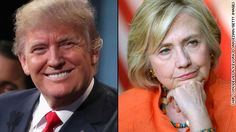 Hillary Clinton and Donald Trump traded insults on Saturday, the latest sign of an escalating feud between the two 2016 party front-runners.