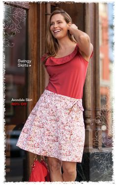 Aventura Clothing's Avondale Skirt: perfect for outdoor fun! And did we mention comfortable?!
