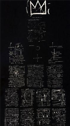 Tuxedo, Jean-Michel Basquiat. 1982
