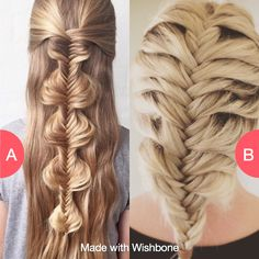 Bubble fishtail or Mermaid fishtail? Click here to vote @ http://getwishboneapp.com/share/6893263
