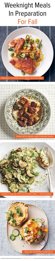 Weeknight Meals | Martha Stewart Living