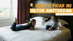 Passamos algumas noites no Hilton Amsterdam Hotel, um hotel super tradicional da cidade e uma boa opção para ficar com crianças em Amsterdam. O Hilton Amsterdam Hotel ficou conhecido mundialmente q…