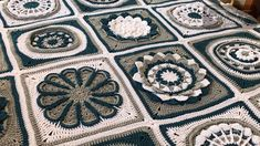My Crochet Flora Afghan is my next Stitch Along starting April Using 6 mm / J Hook with Caron One Pound Yarn this intermediate level project. Crochet Afghans, Crochet Squares, Crochet Stitches, Crochet Blankets, Granny Squares, Blanket Patterns, Crochet Crowd, Love Crochet, Rugs