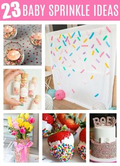 23 Best Baby Sprinkle Ideas on Pretty My Party baby shower ideas 23 Best Baby Sprinkle Ideas - Pretty My Party - Party Ideas Boho Baby Shower, Fiesta Baby Shower, Baby Shower Favors, Baby Shower Themes, Baby Shower Parties, Baby Boy Shower, Baby Shower Invitations, Shower Ideas, Rainbow Theme Baby Shower