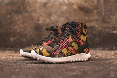 Nike Mixes Clashing Prints on This Womens Sneakerboot