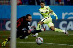Neymar, el especialista contra el Atlético