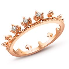 New Fashion Flash Drill Crown Ring Jewelry Shiny Elegant Beauty Ring //Price: $6.99 & FREE Shipping //     #homededor #decor #simpleby