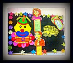 Art ,Craft ideas and bulletin boards for elementary schools: General Information bulletin board for elementary ...