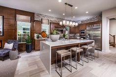 Brookfield Homes Camellia at Rosedale - Hartmark Cabinet Design, Inc.  Design: Design Tec - plan 2 dining