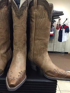 New arrivals from Ariat at Outlaw Western Women's Heritage Western X-Toe Wingtip. $199