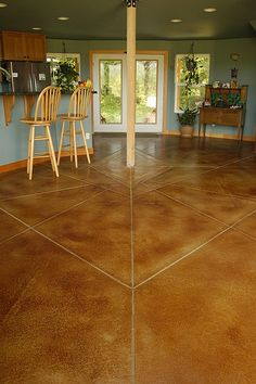 yurt concrete floor