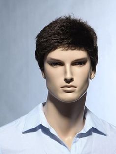 Cheap Mens Lace Front Wigs Buy Quality Mens Human Hair Wigs Directly From China Mens Hair Wigs Suppliers Stylish Glamorous Very Short Straight