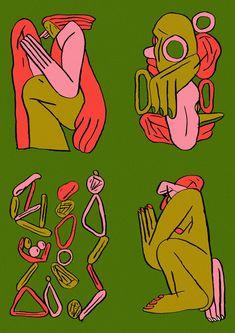 #art #drawing #sketch #illustration Autumn Illustration, Illustration Sketches, Illustrations And Posters, Graphic Illustration, Graphic Art, Vaporwave, Art Inspo, Art Reference, Illustrators
